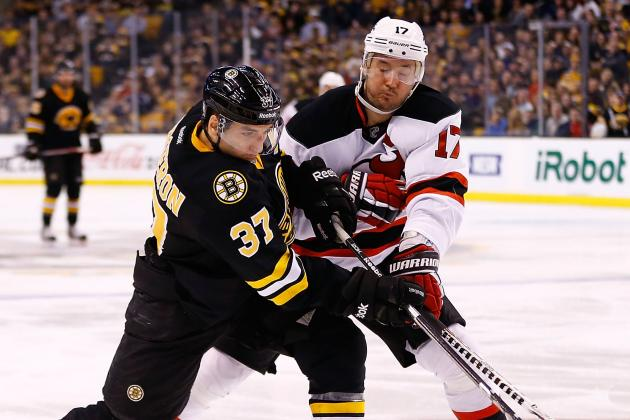 Marchand's Shootout Goal Lifts Bruins over Devils