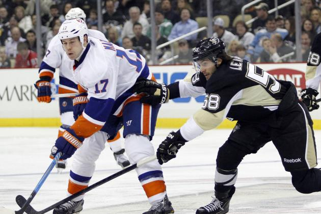Islanders Send Pens to Third Loss in Four Games