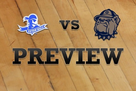 Seton Hall vs. Georgetown: Full Game Preview