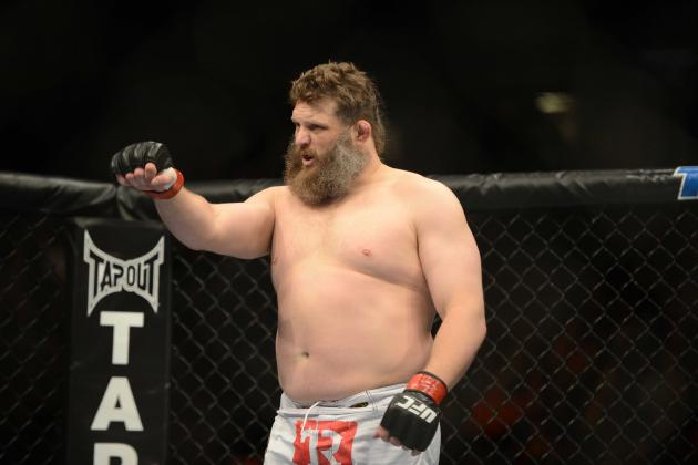 Heavyweights Roy Nelson, Cheick Kongo Will Meet at UFC 159