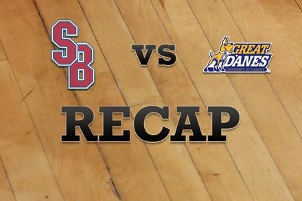 Stony Brook vs. Albany: Recap and Stats