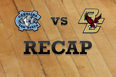 North Carolina vs. Boston College: Recap and Stats