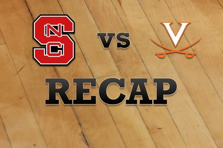 NC State vs. Virginia: Recap and Stats