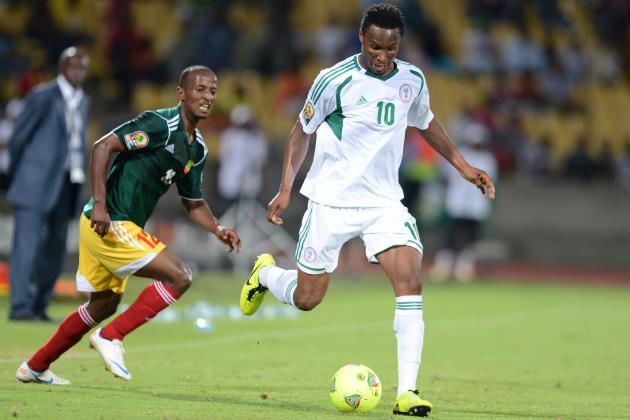 John Obi Mikel: Chelsea Midfielder Is Leading Nigeria Resurgence at AFCON 2013