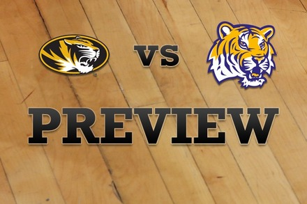Missouri vs. LSU: Full Game Preview