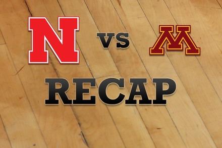 Nebraska vs. Minnesota: Recap and Stats