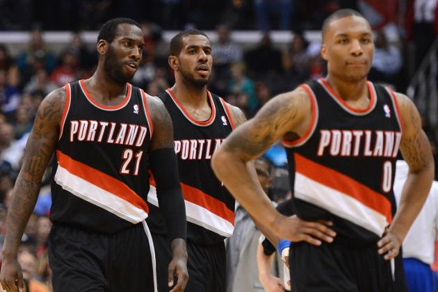 LaMarcus Aldridge Hits Jumper at Buzzer to Lift Blazers