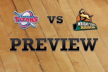 Detroit vs. Wright State: Full Game Preview