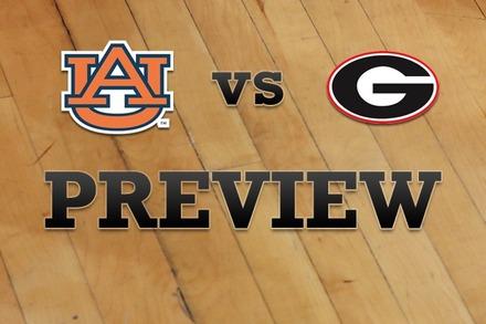 Auburn vs. Georgia: Full Game Preview
