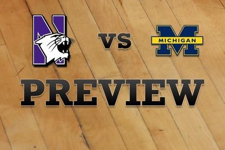 Northwestern vs. Michigan: Full Game Preview