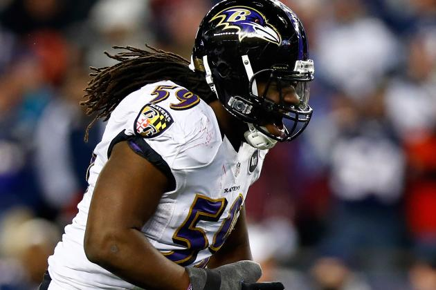 Ravens' Dannell Ellerbe Playing Through the Worst Pain He's Ever Felt