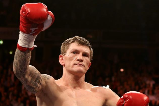 Hatton Won't Swap Boxing for UFC