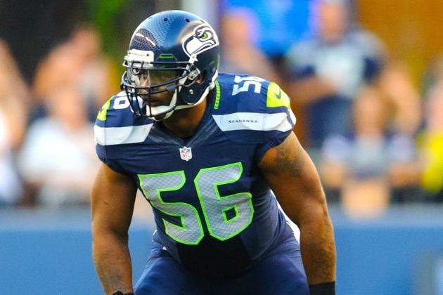 Seahawks' Leroy Hill Arrested Again for Domestic Violence Incident