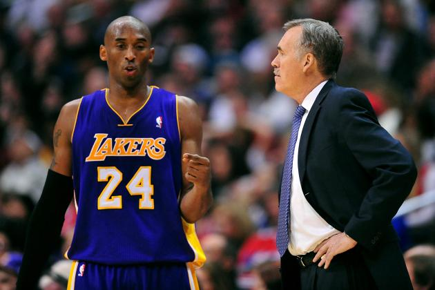 Mike D'Antoni Surprised by Kobe Bryant's Passing and Playmaking