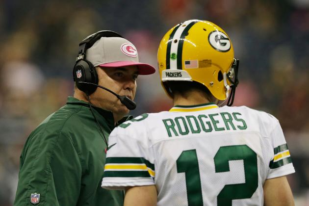 Rodgers Says McCarthy Won't Relinquish Play Calling
