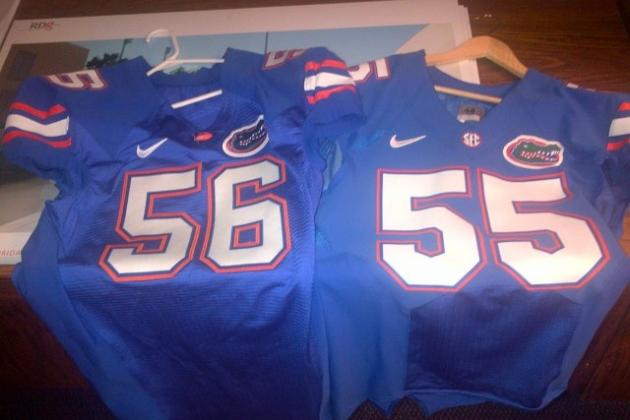 Gators to Wear a New Style of Jersey Made by Nike Next Season