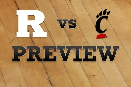Rutgers vs. Cincinnati: Full Game Preview