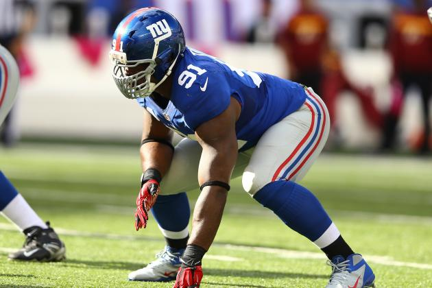 Giants Hope for 'Justin Tuck of Old'