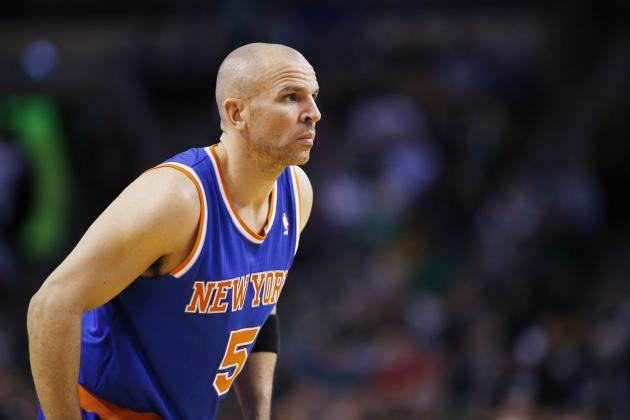 Knicks PG Jason Kidd out vs. Magic with Back Injury