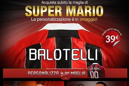 AC Milan Sell Mario Balotelli Shirts Before He's Completed Transfer
