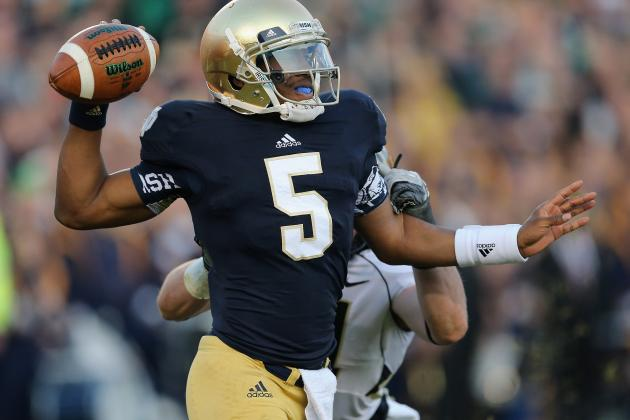 Notre Dame Football: What Everett Golson Needs to Work on in 2013 Offseason