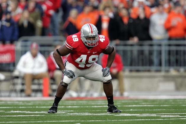 Former Ohio State Football Player Fashionably Bent