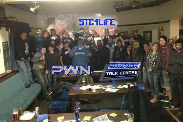 WWE Fans Rally Together for Good Times & Good Causes in the SmackTalk Centre
