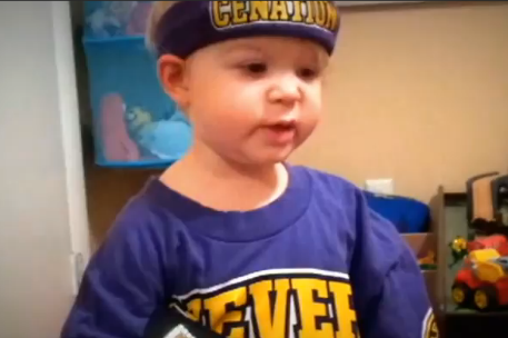 Two-Year Old Kid's Impressions of WWE Superstars Will Make Your Day
