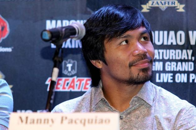 Manny Pacquiao's Unconventional Fight Plans Prove Career Is Nearly over