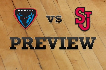 DePaul vs. St John's: Full Game Preview