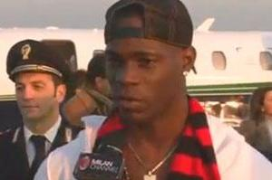 Balotelli: 'I Ran to Milan' (VIDEO)