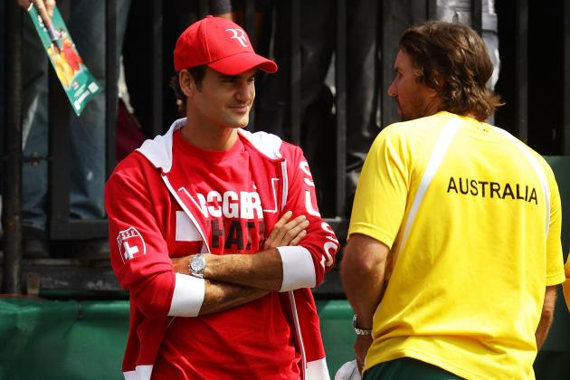 Swiss Captain: Federer 'Not Finished' with Davis Cup