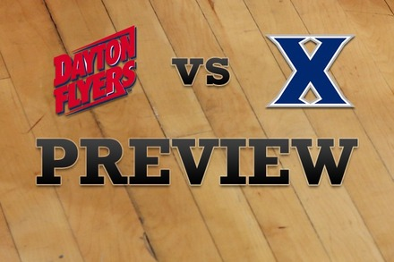 Dayton vs. Xavier: Full Game Preview