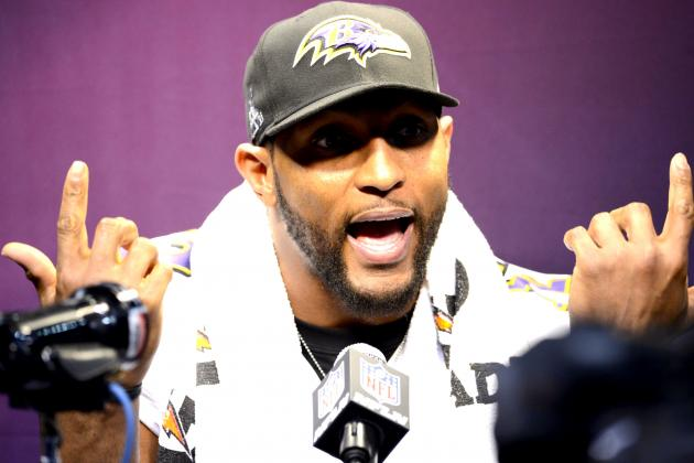 Ray Lewis Responds Again to Allegations of Using a Banned Substance