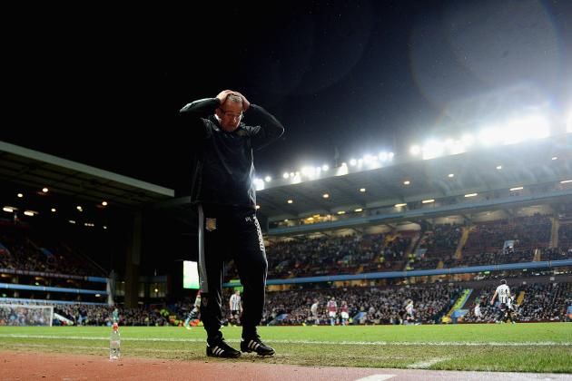 Premier League: Why Aston Villa Will Be Relegated This Season