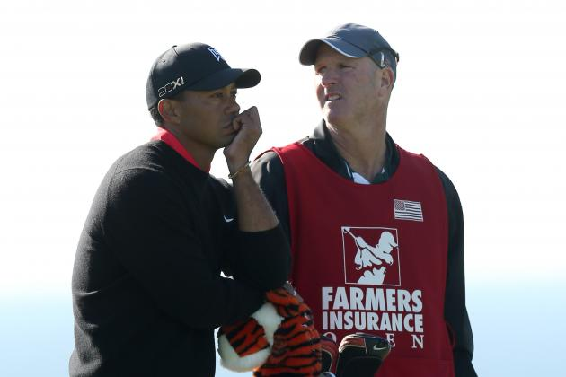 Tiger Woods and Caddie Talked About Kobe Bryant at Torrey