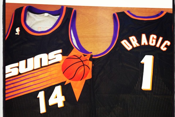 Suns Unveil Throwback '90s Uniforms for Tonight Game vs. Lakers