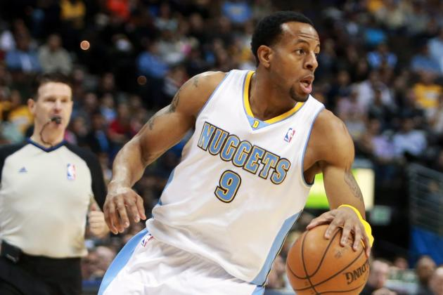 Nuggets' Andre Iguodala Talks Trash in Soft Tones, Unwitting Fashion