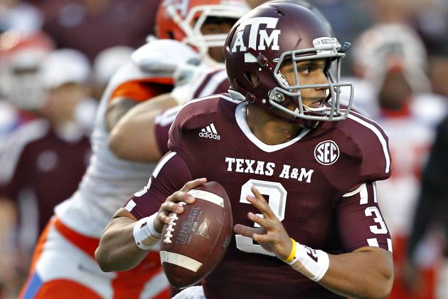 Aggies QB Showers to Transfer