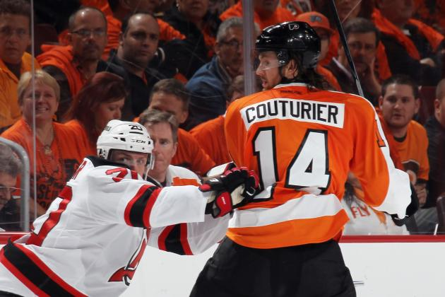 Flyers' Sean Couturier Having a Sophomore Slump Defensively