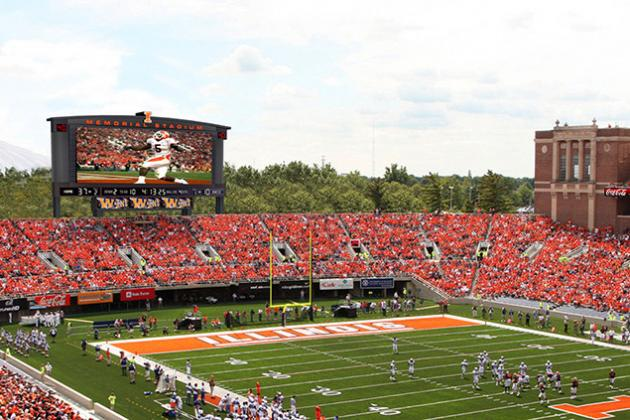 Memorial Stadium to Get New Daktronics Video Display for 2013