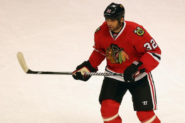 Blackhawks' Rozsival Day to Day with Lower-Body Injury