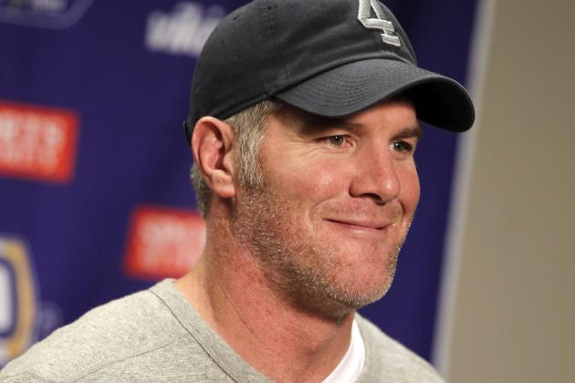 Brett Favre Joins NFL Network's Super Bowl Coverage Team