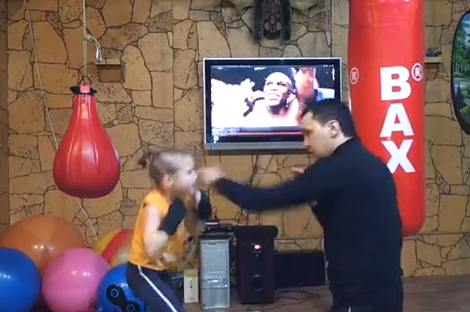 Little Girl Boxing Prodigy Struts Pugilistic Pizazz in Amazing Video