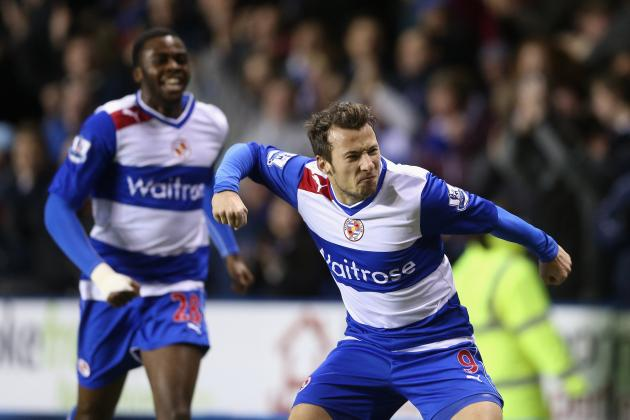 Adam Le Fondre Scored Two as Chelsea Held 2-2 Draw by Reading