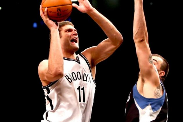 Brook Lopez Will Replace Rajon Rondo in 2013 All-Star Game