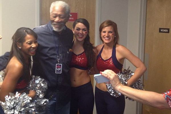 Morgan Freeman Drops by Kentucky vs. Ole Miss, Best Part of Game
