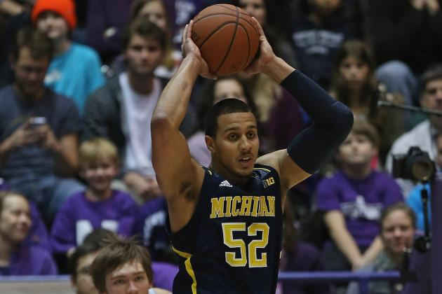 Jordan Morgan out vs. Northwestern Due to Ankle Injury