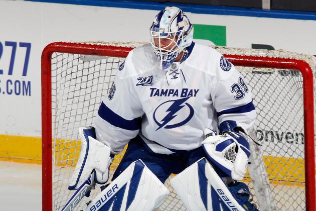 Anders Lindback Makes Steady Progress as Lightning Goalie