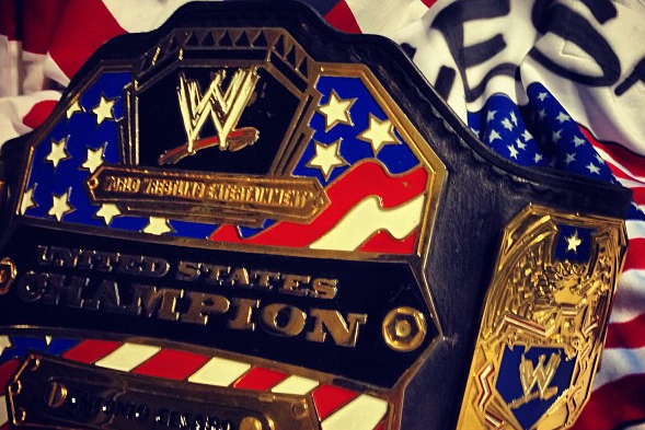 Instagram: Cesaro's US Champion Title Belt
